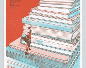 Tweedy (Jeff Tweedy & son) / Austin City Limits 2014 - Screen Printed Poster