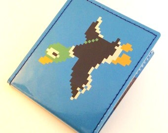Duck Hunt Billfold Wallet - Retro 8bit Goodness