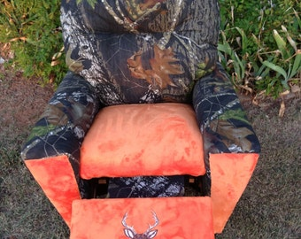 Childs Recliner camo with dear