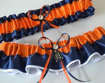 Wedding Sport Garter Detroit Tigers- Theme Wedding Garter Bridal Garter Sport Garter
