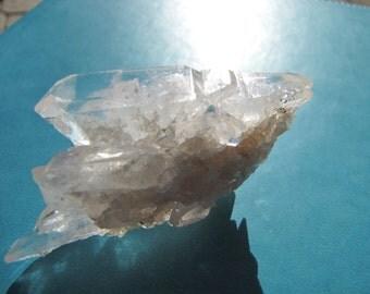 Lemurian Quartz Crystal Cluster Multiple DT Crystals/ Reiki Healing/ Lightworker/Feng Shui