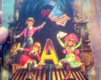 1982 Shackman Repo The Railroad ABC Booklet