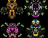YOU WHOO - 60 Machine Embroidery Designs Instant Download 4x4 5x7 6x10 hoop (AzEB)
