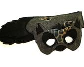Children's Safari Animal HYENA Felt Mask and Tail Set