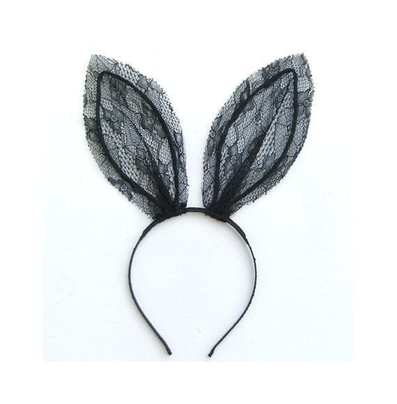 Related: cat ears headband bow headband bunny ears and tail bunny ears hat. Include description. Categories. All. Clothing, Shoes & Accessories; Fancy Dress Costume Party Rabbit Bunny Long Ears Headband with Black Lace Mask See more like this. White Pink bunny rabbit ears headband hair band accessory easter bunny costume. Brand New. $
