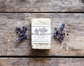 Lavender // small bar // cold process soap // organic ingredients // herbal soap // all natural // vegan // handmade soap // lightly scented