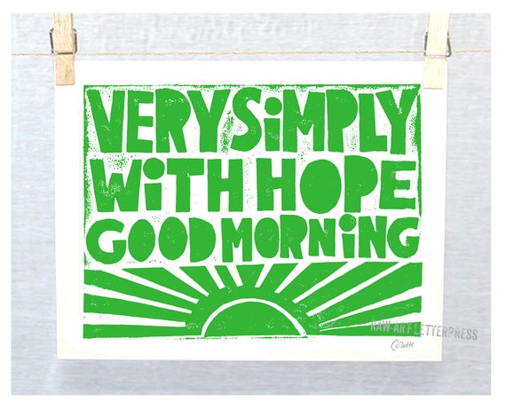 Very Simply with Hope Good Morning