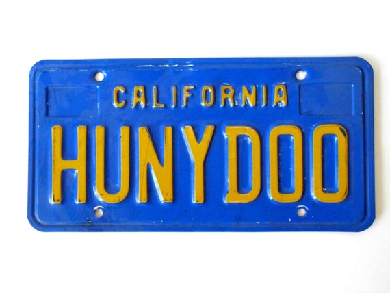 Can You Paint A California License Plate