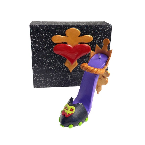 Evil Christmas Tree: EVIL QUEEN Inspired Disney Polymer Clay Christmas Tree
