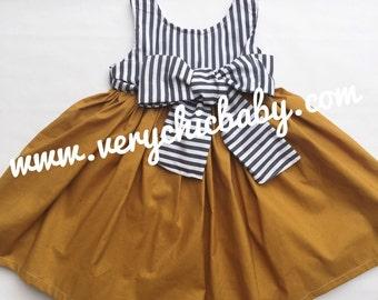 Girls Summer Dress, Girls Dress, Boho Dress, Handmade Girls Dress, Toddler Dress.Trendy Boutique Summer Dress, Girls Vacation Dress