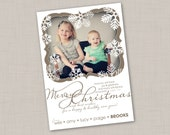 Regal Flurries Holiday Card (Religious)
