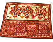Vintage Applique, Antique Folk Art Textile   3