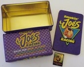 Vintage Smokin' Joe's Racing Tin With Matches, Tobacco Collection,  New Never Opened
