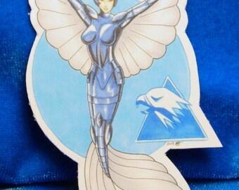 Steelheart Mermaid Magnet