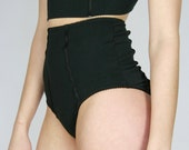 organic high waisted panties - GRACE range - made to order and ready to ship