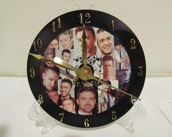Justin Timberlake CD Clock