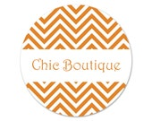 Custom Business Stickers - Personalized Labels - Package Seals - Chevrons Stickers - Custom Labels - Etsy Business Stickers