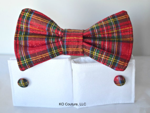 Dog Bow Tie Cuffs