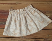 BUY 2 GET 1 FREE - Forest Friends Twirl Skirt -Baby Toddler Girl -Mod Trendy -Back to School, Fall, Winter - Thanksgiving