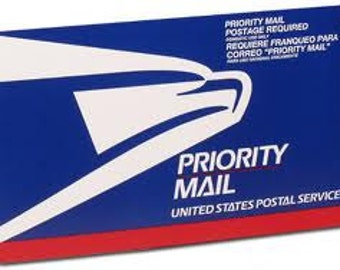 Priority Mail Upgrade...Orders Ship Immmediately Via USPS Priority 2-3 Day Service