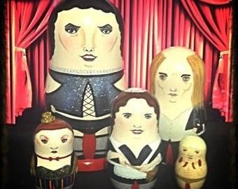 Mini Rocky Horror Picture Show Matryoshka Dolls
