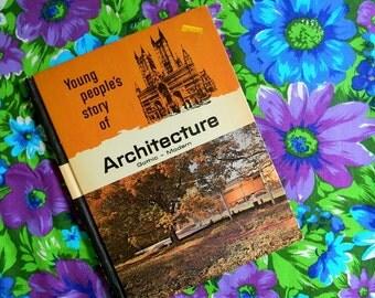 Vintage 1960s Children's Book of Architecture