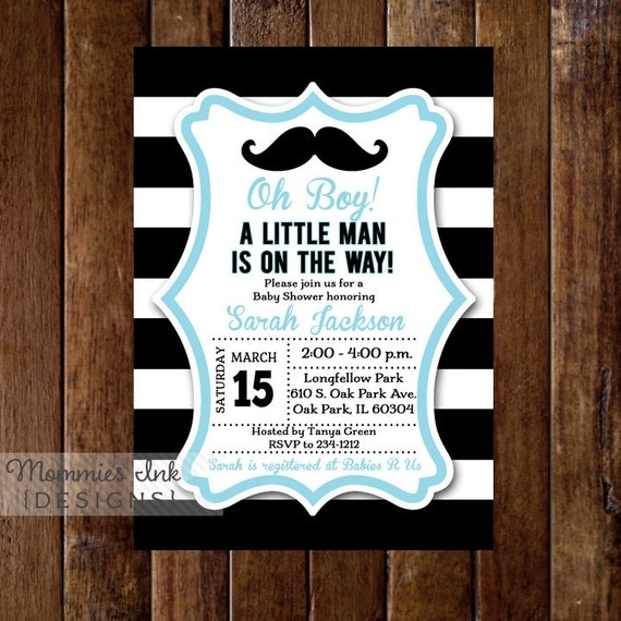 Mustache baby shower invitation little man invitation mustache il570xn filmwisefo