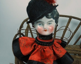 "Angel Assemblage Doll ""Betsy"" Assemblage Art Doll, Fairy Doll"