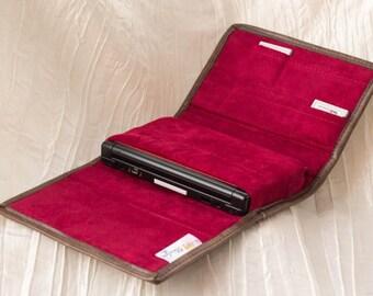 Upgrade to Premium Faux Suede interior of Case