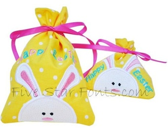 Easter Treat-Gift Bags in the Hoop
