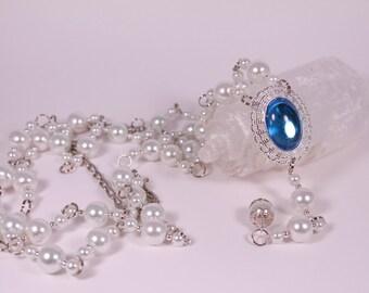 Queen Regent Girdle Belt in Silver Tudor Renaissance Medieval Costume