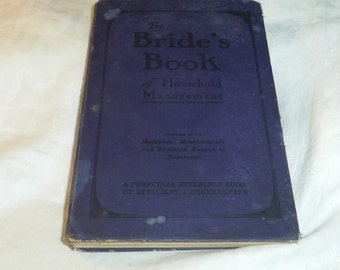 Bride's Book of Household Management, Vancouver BC, British Columbia Ads 1920s