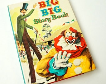 Big Big Story Book 1955 / Vintage Whitman Short Stories and Poems for Children