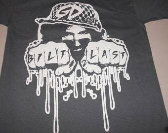 T-Shirt - Jerry Built 2 Last (White on Charcoal)