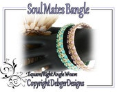 Soul Mates Bangle -Tila Beading Pattern Tutorial