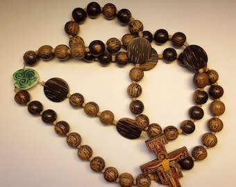 Popular Items For Wall Rosary On Etsy