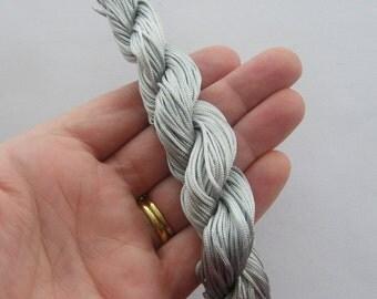 25 Meter grey nylon string