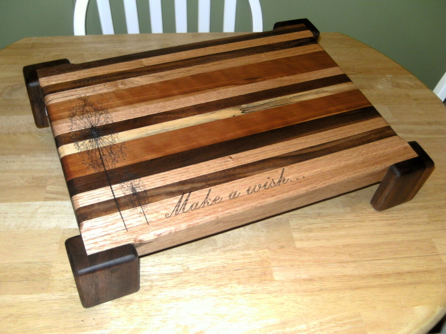 Large Laser Engraved Personalized Cutting Board By