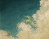 Rising Clouds, Giclee art print of original oil painting
