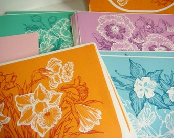 Current Stationery Set - Floral Fancy