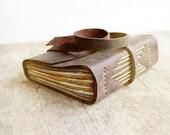 Leather Journal, In Flight, Hand Bound Book