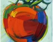 Print - Ripen Tomato -8inX8in-Modern Fine Art