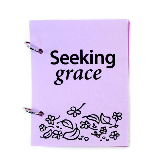 Prayer Journal, Prayer Diary, Christian Journal: Seeking Grace, Lavender Fields