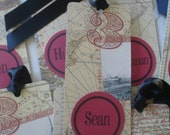 World Map Bookmarks