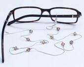 Glasses Chain || Light Smoked Topaz
