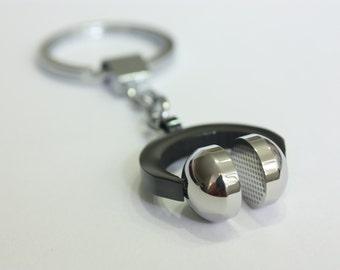 Headphones Keychain