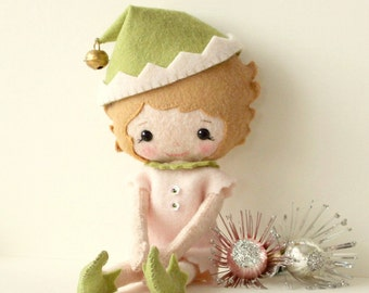 Evie the Elf pdf Pattern - Instant Download