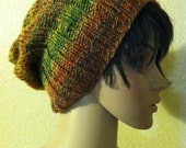 Autumn Slouchy - fashionable multi-color beanie/hat