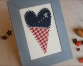 Americana Primitive Heart Decor