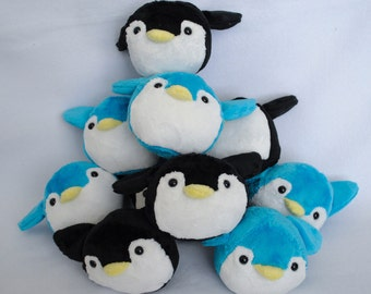 Penguin Plushie CHOOSE YOUR COLORS Made to Order